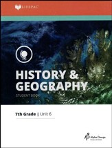 Lifepac History & Geography Grade 7 Unit 6: U.S. Anthropology