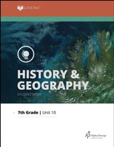 Lifepac History & Geography Grade 7 Unit 10: Social Sciences Review
