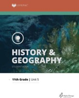 Lifepac History & Geography Grade 11 Unit 5: A Nation United Again