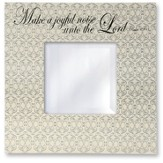 Make a Joyful Noise Wall Mirror