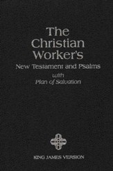 KJV Christian Workers New Testament with Psalms  - Slightly Imperfect