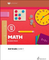 Lifepac Math Grade 2 Unit 1: Numbers and Words to 100, Symbols