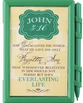 For God So Loved the World Memo Pad