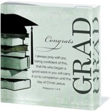 Congrats Grad Glass Block