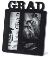 Congrats Grad Photo Frame, Black