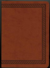 NKJV Jeremiah Study Bible, Soft Leather-look, Brown with burnished edges - Imperfectly Imprinted Bibles