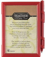 Teacher, A Caring Heart Memo Pad