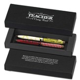 Teacher, A Caring Heart Pen Set