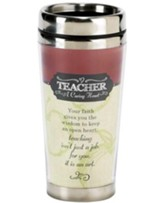 Teacher, A Caring Heart Travel Mug