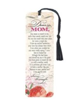 Dear Mom Tassel Bookmark
