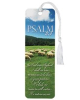 Psalm 23 Tassel Bookmark