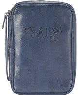 Psalm 23 Bible Cover, Navy, Medium