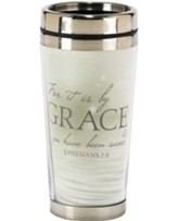 For It is By Grace Travel Mug, Ephesians 2:8