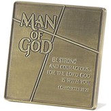 Man of God Tabletop Plaque