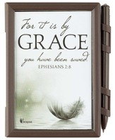 For It Is By Grace Memo Pad, Ephesians 2:8