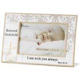 Beloved Godchild Photo Frame