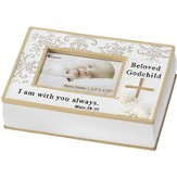Beloved Godchild Resin Photo Box