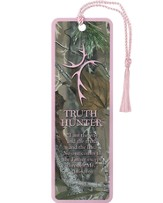 Truth Hunter Tassel Bookmark, Pink