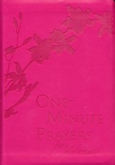 One-Minute Prayers for Women Gift Edition, Imitation Leather - Slightly Imperfect