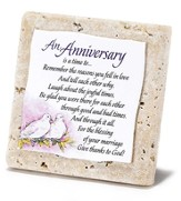 An Anniversary Tabletop Plaque