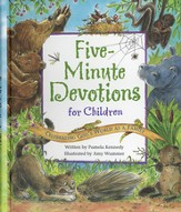 Five-Minute Devotions for Children: Celebrating God's World As a Family (slightly imperfect)