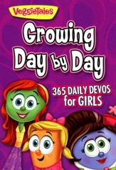 Growing Day by Day: 365 Daily Devos for Girls