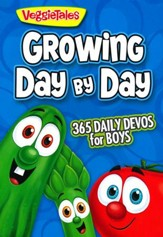 Growing Day by Day: 365 Daily Devos for Boys