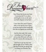 Reunion Heart Wall Plaque