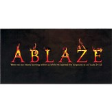 Ablaze Wall Plaque