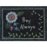 Pray Always Wall Plaque