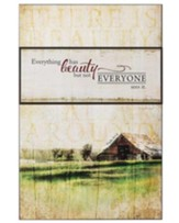 Everything Has Beauty Wall Plaque