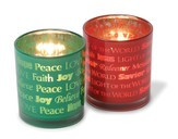 Christmas Votive holders, Set of 2