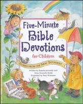 Five-Minute Bible Devotions for Children: Stories from the New Testament