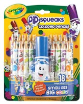 Crayola, Pip-Squeaks Colored Pencils, 18 Pieces