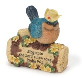 Blue Bird Figurine