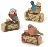 Set of three assorted Bird Figurines