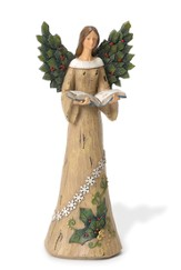 Holly Angel With Book