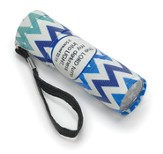 Blue Chevron Flashlight