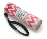 Pink Chevron Flashlight