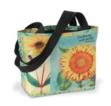 Hope Sunflower Tote Bag