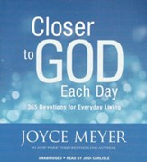 Closer To God Each Day: 365 Devotions For Everyday Living-Unabridged, 5 CDs