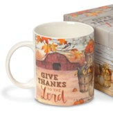 Give Thanks To The Lord, Boxed Mug