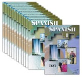 ACE Spanish High School Elective DVD Set: 12 DVDs & 1 Test DVD