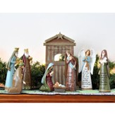 The Story Of Christmas Nativity Set