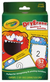 Numbers & Counting Dry-Erase Cards Grade PreK