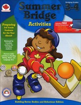 Summer Bridge Activities, Grades 3-4 (Canadian Edition)