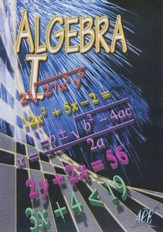 Algebra I Vol. 1, DVD
