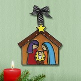 Nativity Ornament, Large