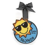 Sunshine Ornament, Rejoice, Large, Psalm 118:24