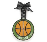Basketball Ornament Victory, Small, I Corinthians 15:57